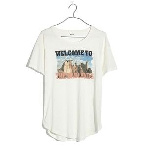 EUC Madewell Welcome to the Badlands Cotton Tee